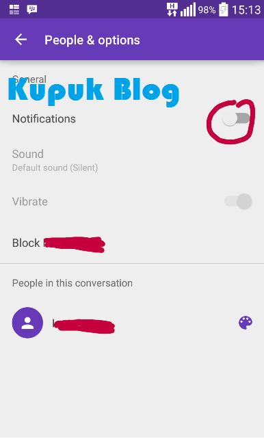 Cara Menghilangkan Notif di Android