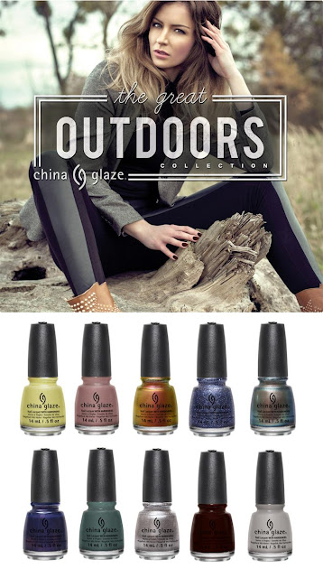 China Glaze - Outdoors - Otoño 2015