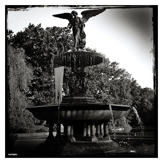 Bethesda Fountain in Central Park, New York City