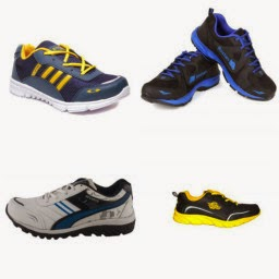 Buy Branded Men's Sport Shoes at FLAT Rs. 349 :Buy To Earn