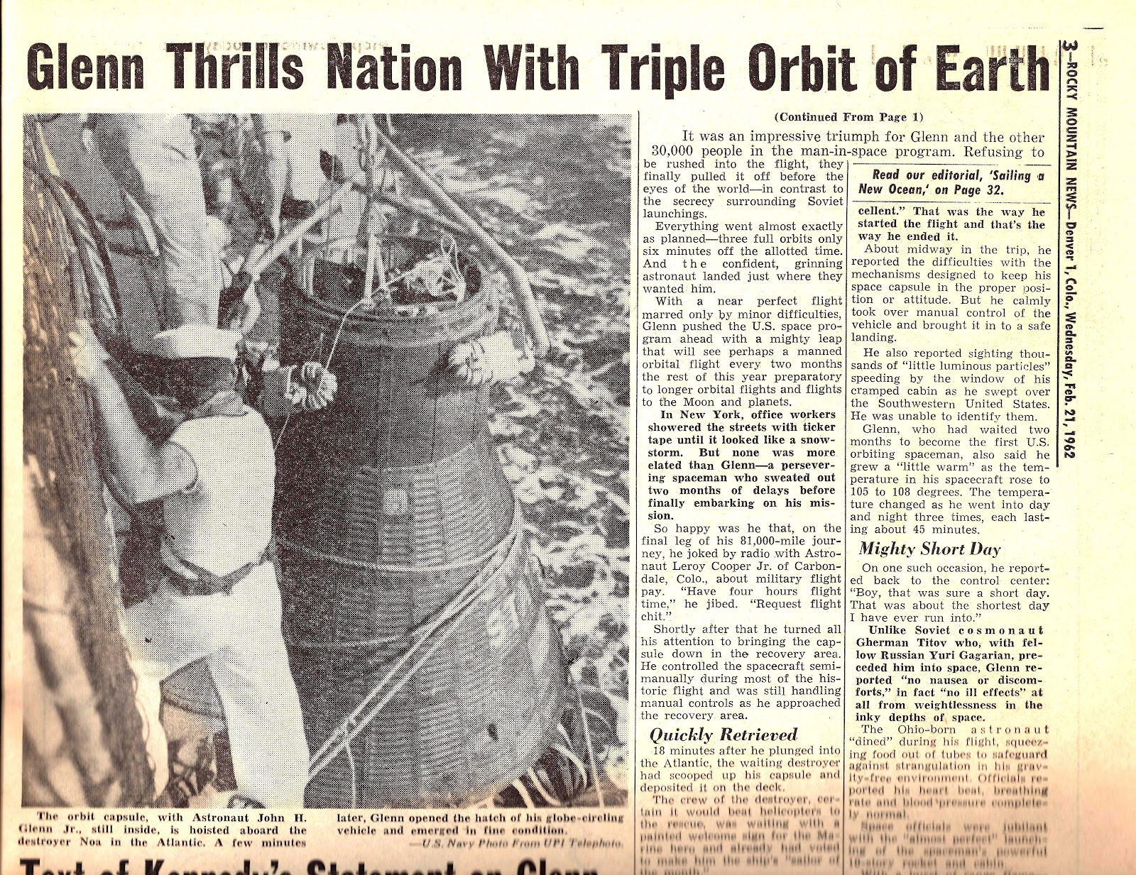 the race that launched a friendship into space The early space race was really a chase although the united states launched its first earth satellite in 1958, its less powerful rockets had a tendency to detonate on the launch pad.