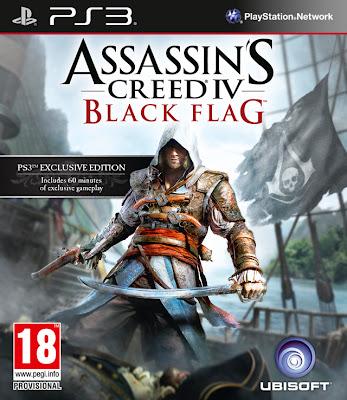 assassins creed iv black flag box art ps3 europe Assassins Creed IV: Black Flag Confirmed