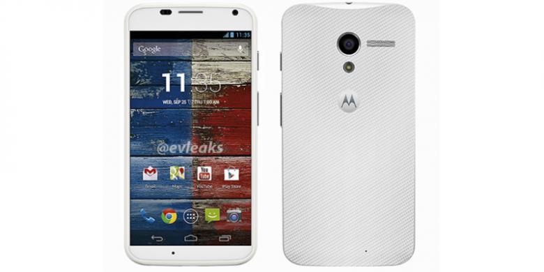 Wujud Motorola Moto X Yang Akan Keluar