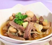 Resep Lidah Masak Jamur