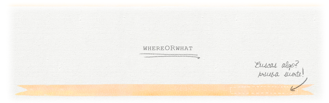 .WHEREORWHAT