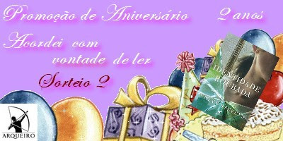 Promoção de aniversário 2 anos de Acordei #2