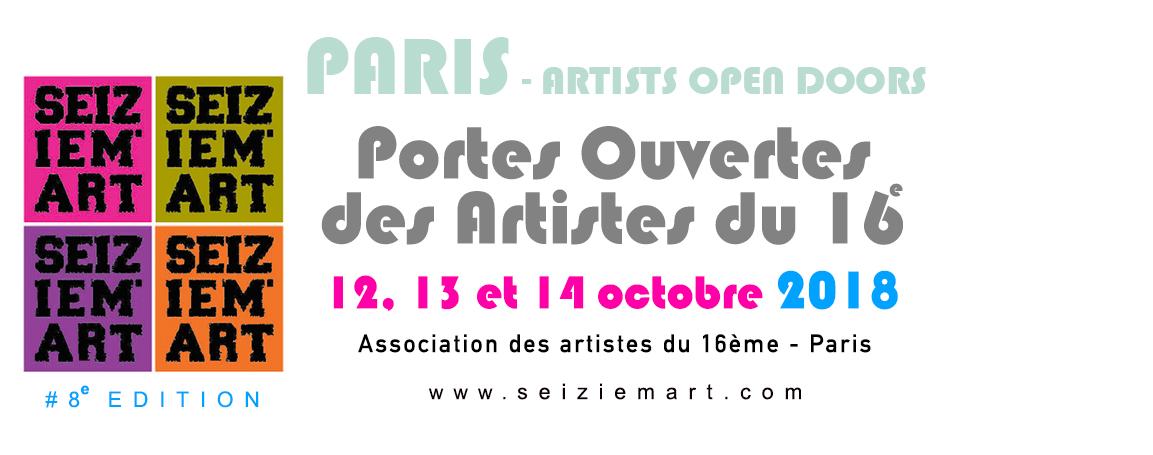 Seiziem'Art - Portes Ouvertes des artistes du 16ème - Paris