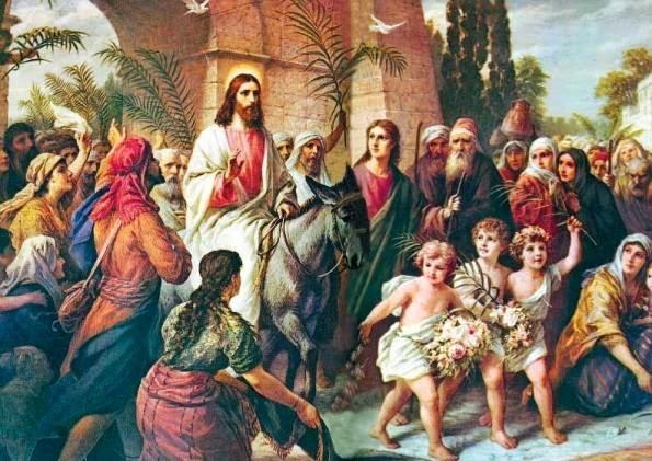 Nacionalismo Católico San Juan Bautista: Entrada Triunfal