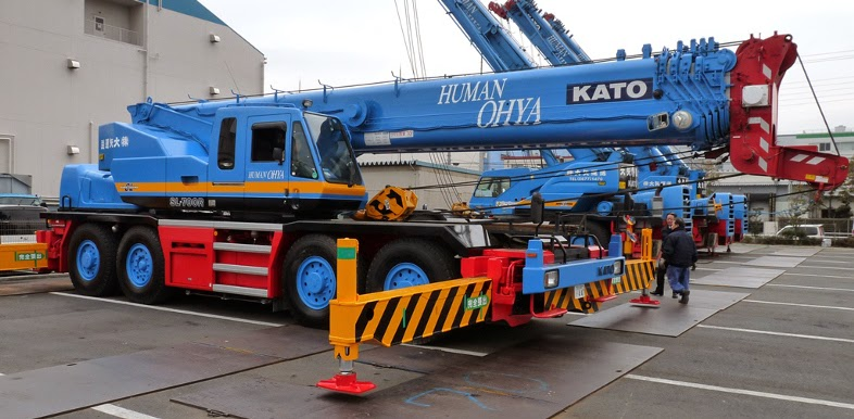Rough Terrain Crane Wikipedia : Kato sl r premium kr h l rough terrain crane ton