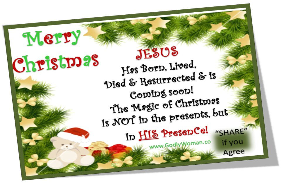 Happy Birthday JESUS and Merry Christmas to All - (Must Watch ...