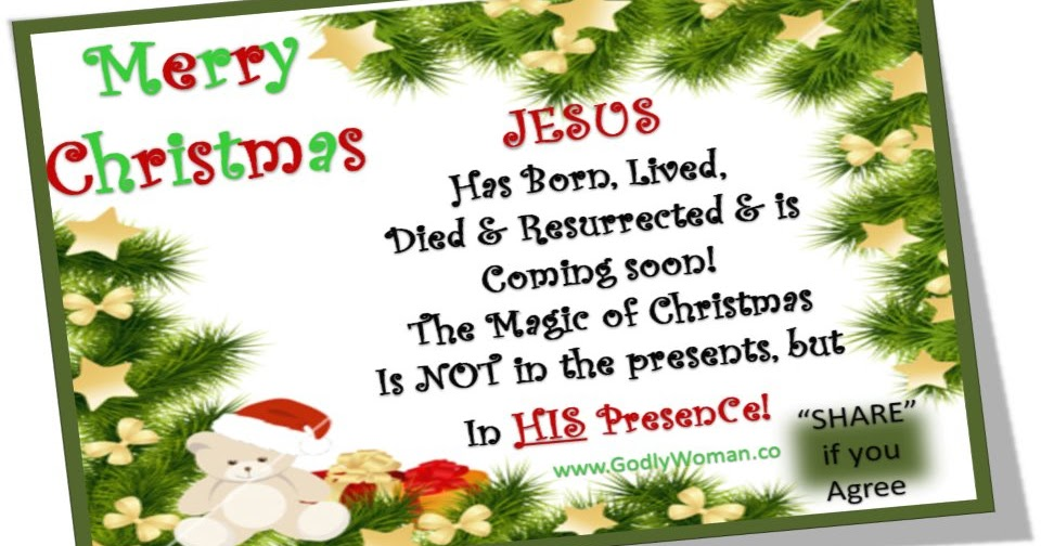 Happy Birthday JESUS and Merry Christmas to All - (Must Watch)