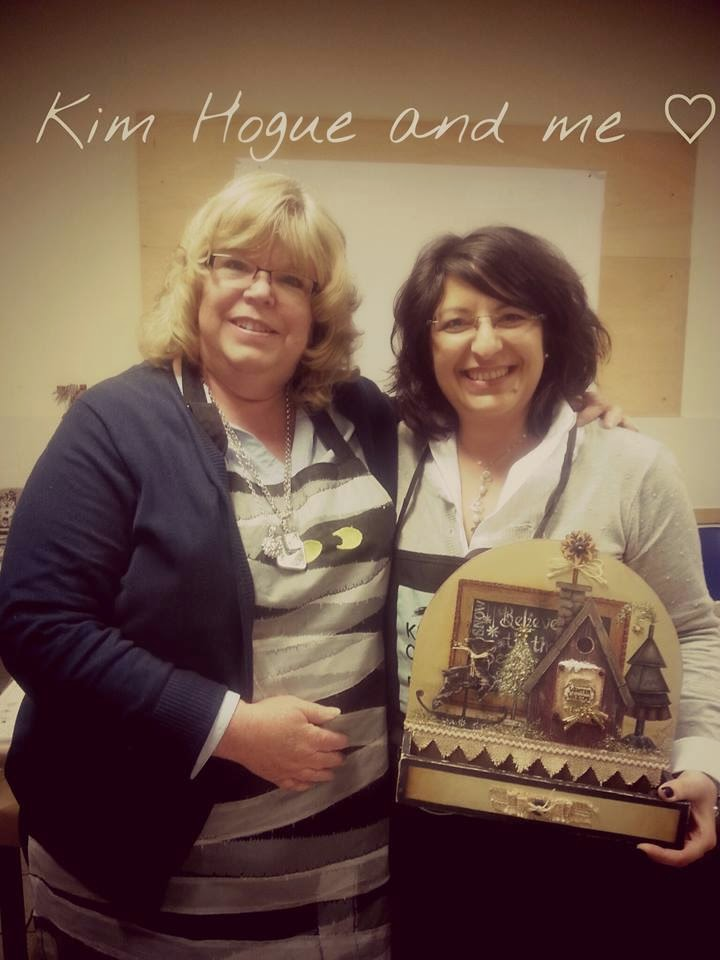 Kim Hogue♥ and me