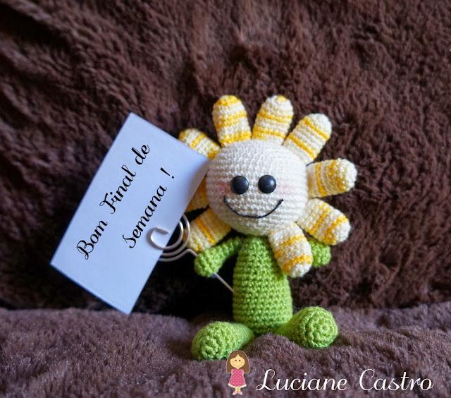 Flor Amigurumi em Croche