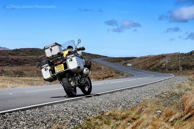 harris roads on BMW r1200gs