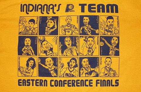 Indiana's Team ECF Shirt - Game 2