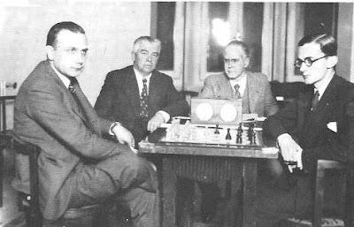 Match Vicente Almirall-Dr.Ramón Rey Ardid por el Campeonato de España 1935