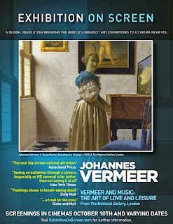Vermeer on screen bij Pathe Bioscopen