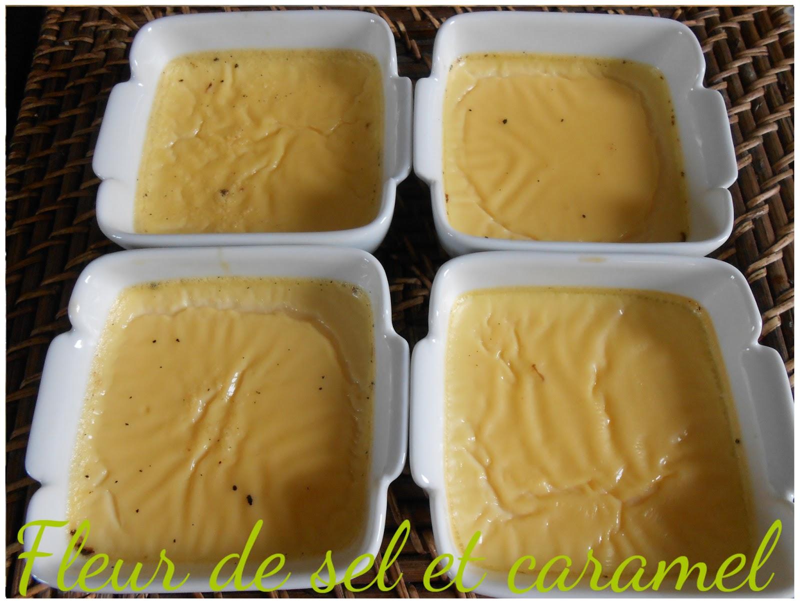 Crème aux oeufs maison