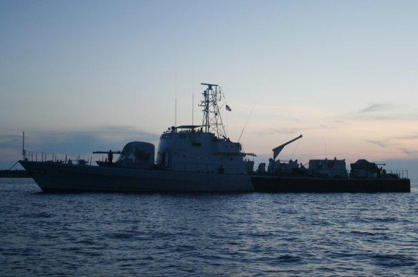 FAC(G) kapal kd pari, TLDM