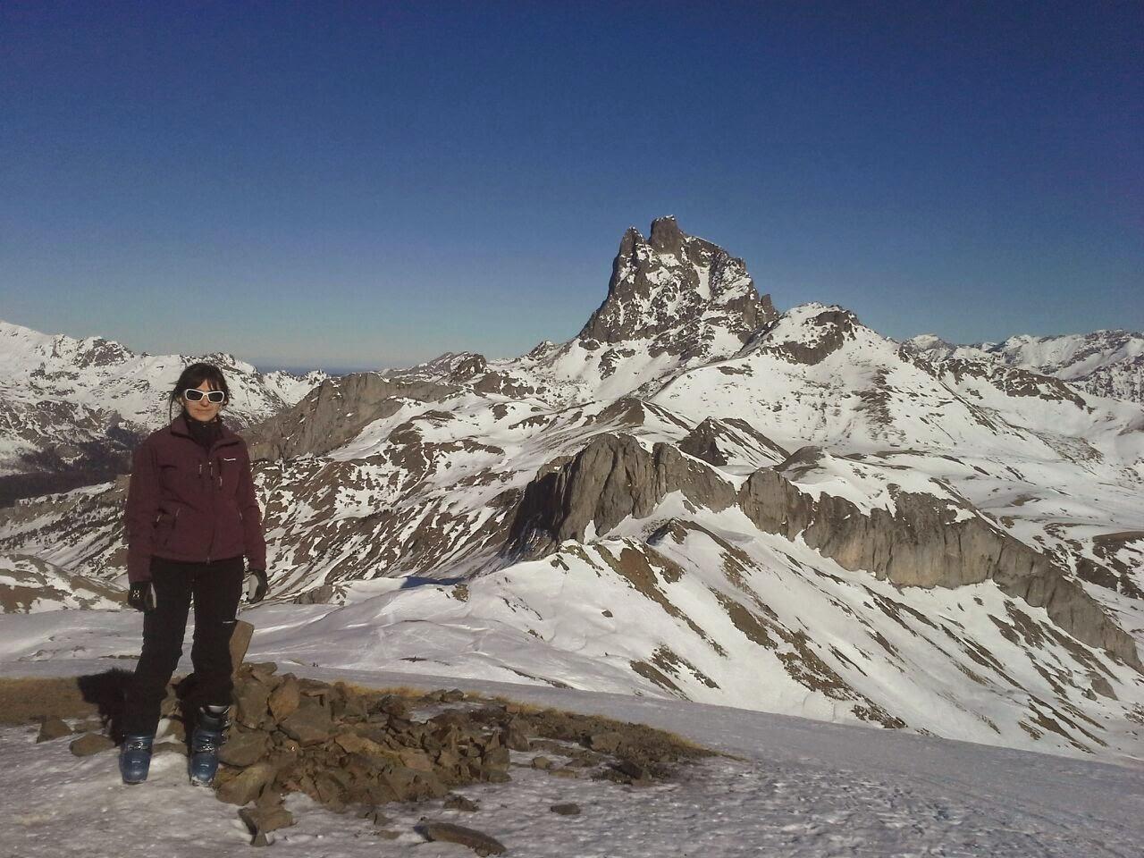 pico canal roya, portalet, formigal, pirineos