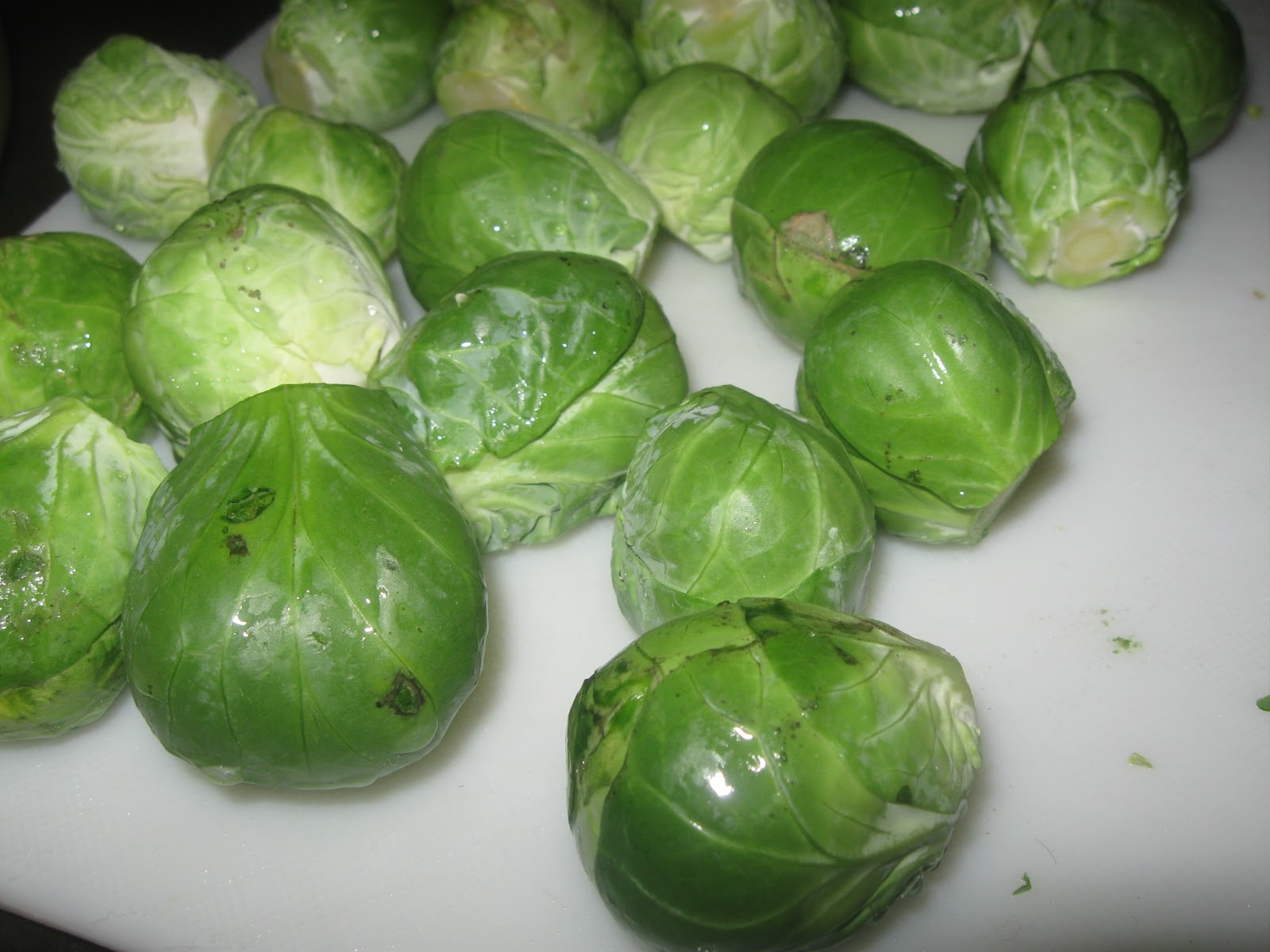 roasted brussels sprouts from allrecipes com 1 1 2 lbs brussel sprouts ...