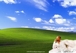 Wallpaper of Vin Diesel Resting after an action movie in Beautiful Countryside landscape Desktop Wallpaper