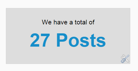 display  number of posts in blogger