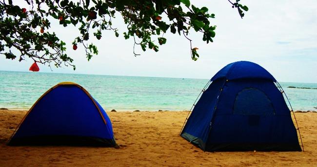 camping tent, camping, beach, white beach, calatagan, burot batangas