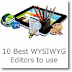 10 Best WYSIWYG Editors to use