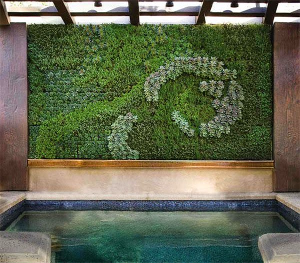 ديكور حوائط نباتية