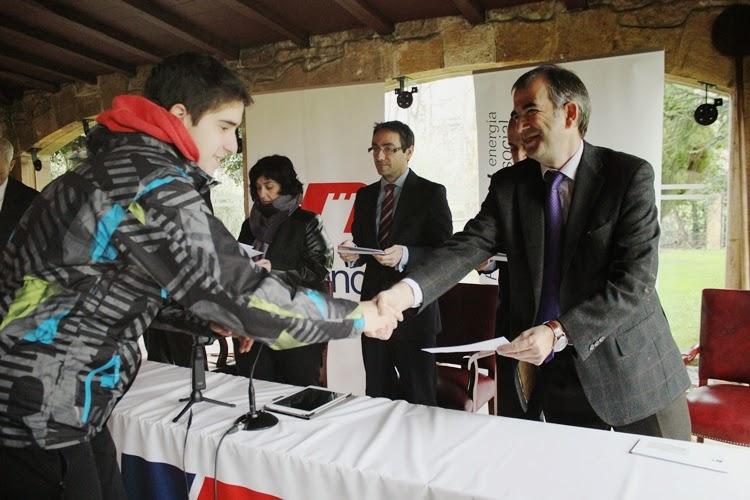 Entrega de las becas de FP del curso 2014/2015