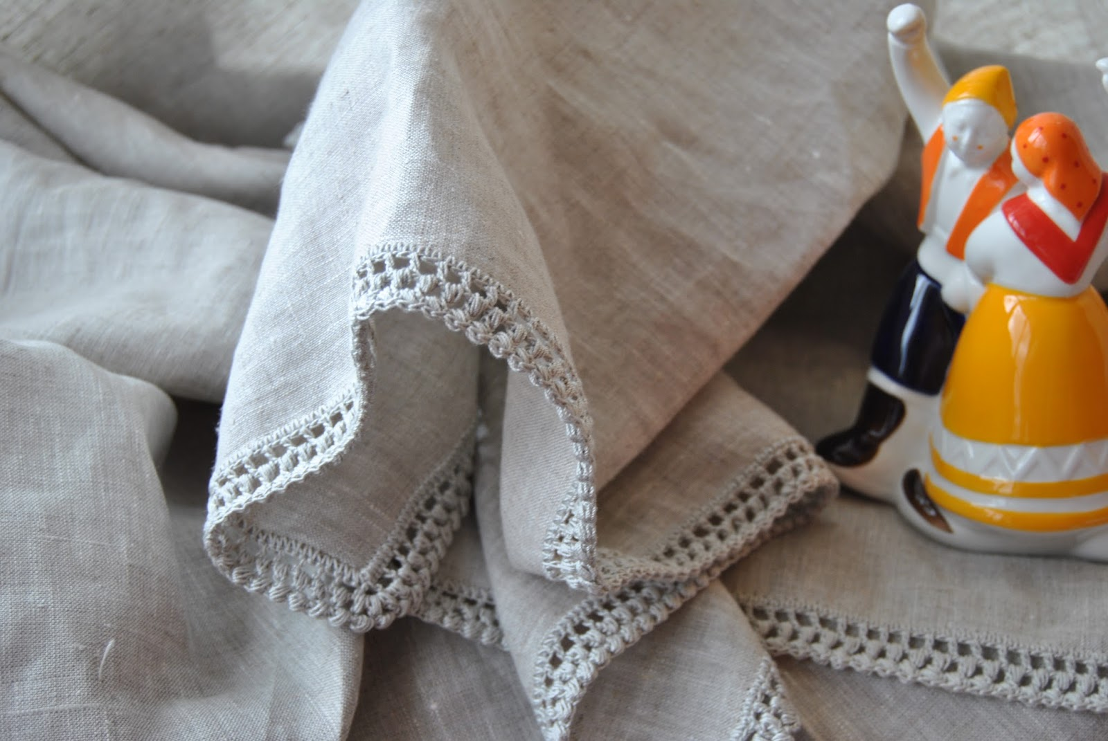Crochet handmade crochet manteles individuales con - Manteles de lino ...