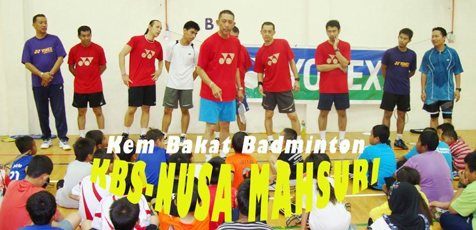 Kem Bakat Badminton KBS-Nusa Mahsuri