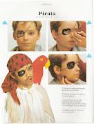 Y algunos ejemplos de maquillaje para niños: Próximamente más fotos. robot