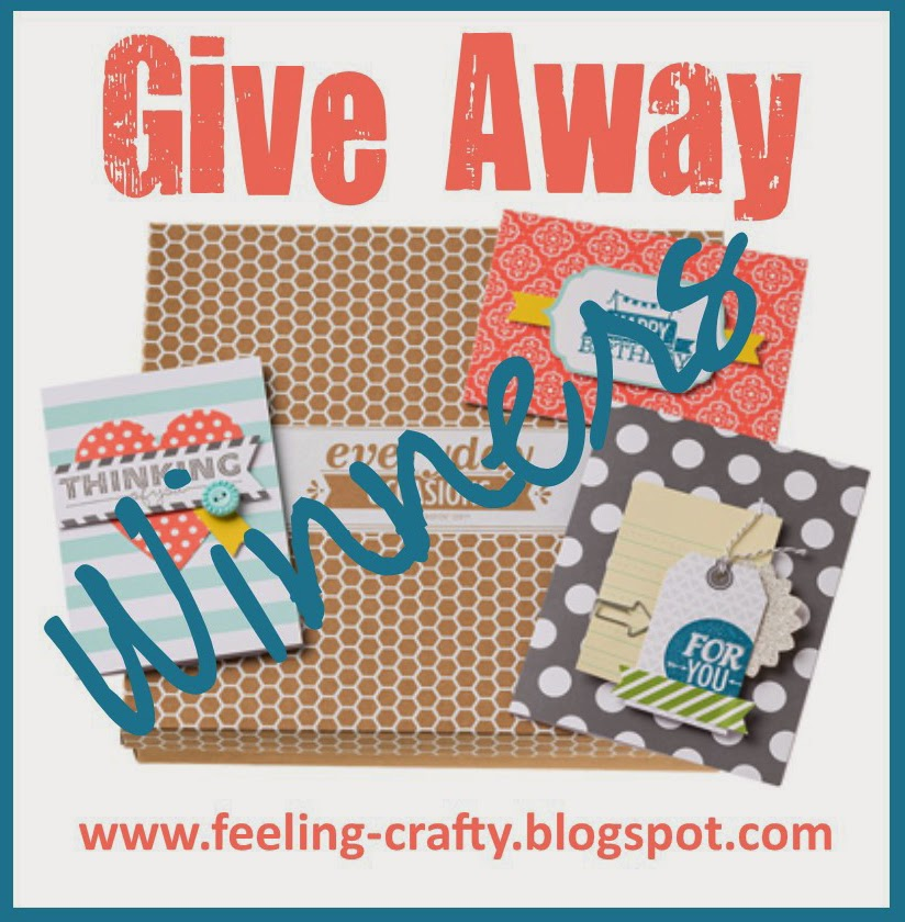 Did you win an Everyday Occasions Card Kit?  Get one here