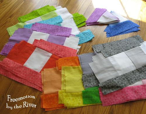Bloom Bloom Pow Quilt-Along at Freemotion by the River
