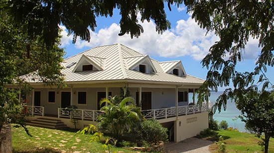 Luxury beachfront home for sale on Carriacou in the Grenada Grenadines