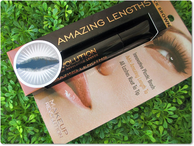 Máscara de Pestañas Amazing Lengths de Makeup Revolution
