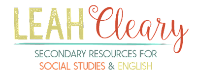 Leah Cleary: Secondary Resources for Social Studies and English
