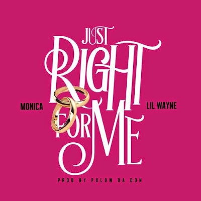 fotos cover portada de just right for me monica lil wayne