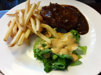 Pork Chop with Black Pepper Sauce at Malones Somerset 313 Orchard