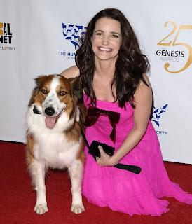 Kristin Davis at the Genesis Awards