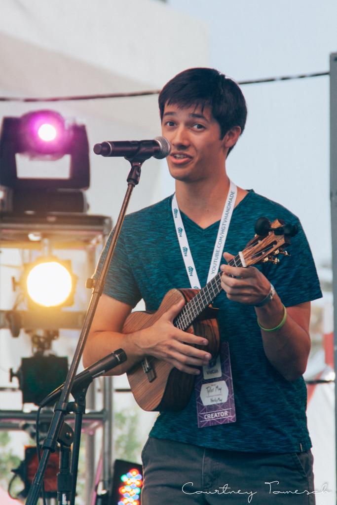 VidCon 2015 Tyler May NerdyMay