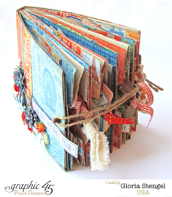 Book Cover Instructions Paper Bag : Scraps of life graphic world s fair mini album