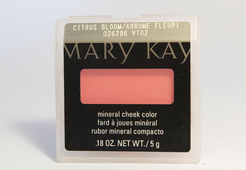 blush mineral mk cirtrus bloom 1 Blush Mineral Citrus Bloom da Mary Kay
