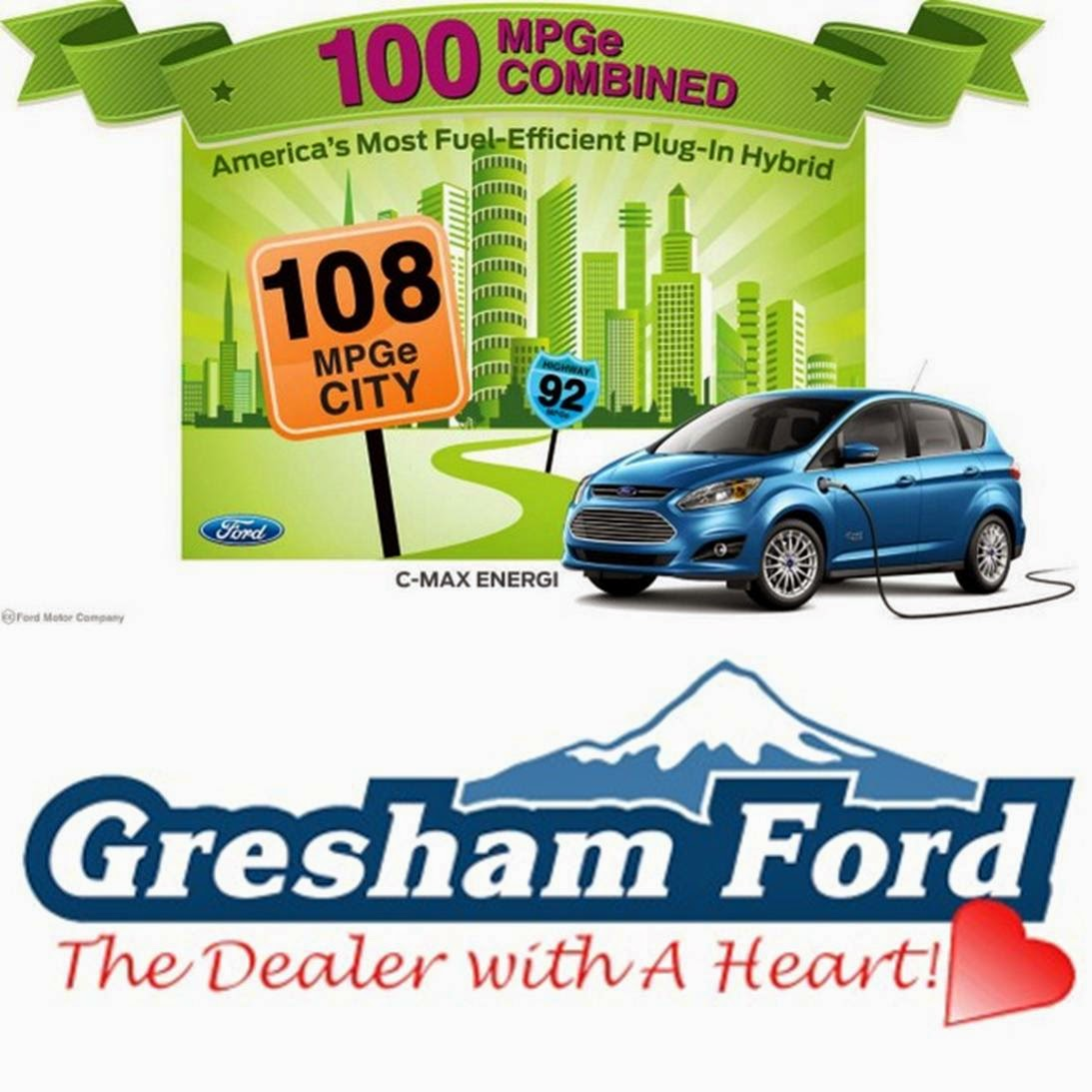 Gresham Ford Making Going GREEN Easy!: Charging Your C-Max