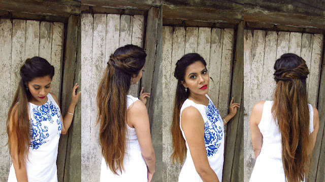 messy bun, french braid bun, vinatge hairstyle,5 minutes summer updo,sumer hair trends 2015,no braiding updo,No Heat Updo,easy hairstyle for all hair types,summer hairstyle 2015,easy hairstyle for long hair,fishtail combo braid,bohemian hairstyle,voluminous updo,soft romantic updo,romantic hairstyle,no heat 5 minute updo,hairstyle, hair,beauty , fashion,beauty and fashion,beauty blog, fashion blog , indian beauty blog,indian fashion blog, beauty and fashion blog, indian beauty and fashion blog, indian bloggers, indian beauty bloggers, indian fashion bloggers,indian bloggers online, top 10 indian bloggers, top indian bloggers,top 10 fashion bloggers, indian bloggers on blogspot,home remedies, how to