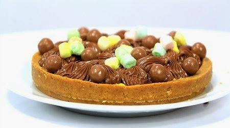 تارت المارشميللو والشوكولاتة