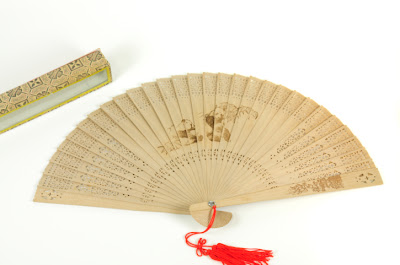 Fragrant sandalwood fan