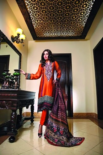 Zarqash Eid Winter Collection 2014